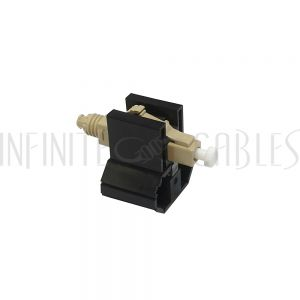 FO-FAST-LC-MM62.5-6 FASTCONNECT LC MM OM1 Beige Connector - 6 Pack - Infinite Cables