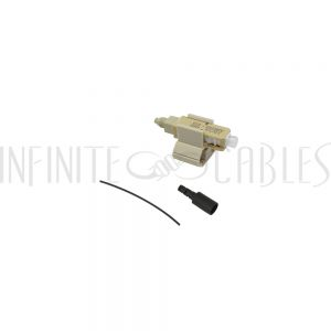 FO-FAST-SC-MM62.5-6 FASTCONNECT SC MM OM1 Beige Connector - 6 Pack