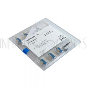 FO-FAST-SC-SM-6 FASTCONNECT SC SM UPC Blue Connector - 6 Pack - Infinite Cables