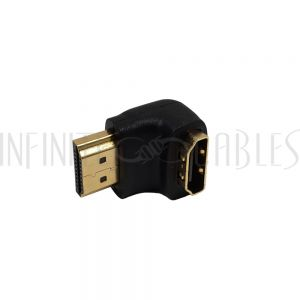 AD-HDMI-01 HDMI Male to Female Adapter - 90 Degree - Infinite Cables