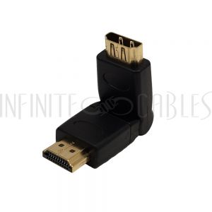AD-HDMI-05 HDMI Male to Female Swivel Adapter - Infinite Cables