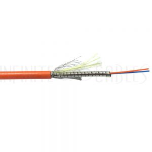 Mini-Armored Tight Buffered Plenum Fiber Cable