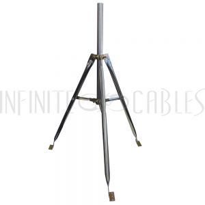 SD-100-03 3ft Galvanized Steel Tripod with Mast