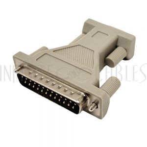 AD-DB925-01 DB9 Female to DB25 Male Serial Adapter - Infinite Cables