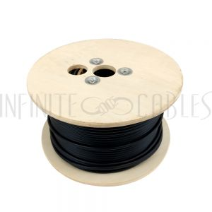 BK-SPW2C16-500BK-PL 500ft 2C 16AWG Plenum Bulk Speaker Cable CMP - Black - Infinite Cables