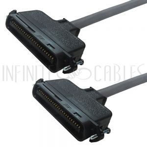 TELCO-103-03 Telco 50 Cat3 180-Degree Male to 180-Degree Male - Infinite Cables