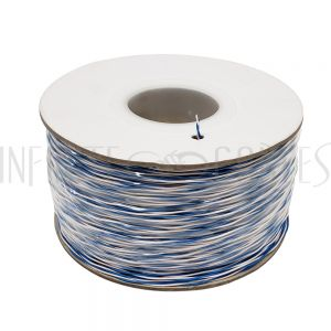 BK-CCSL-1BL 1000ft 1 Pair Cat3 Cross-Connect Bulk Cable - (Blue/White)
