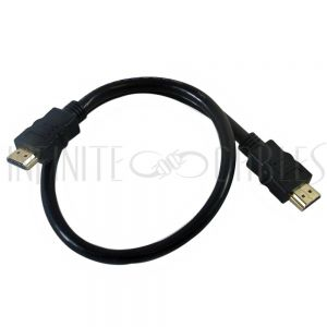 HDMI-140-01.5K 1.5ft HDMI High Speed w/Ethernet 4K*2K, 60Hz Cable - CL3/FT4 28AWG - Infinite Cables