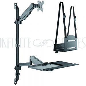 Sit-Stand Workstation  - Infinite Cables