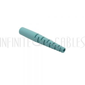 FO-BTSC2-AQ SC Boot for 2mm Fiber Cable - Aqua - Infinite Cables