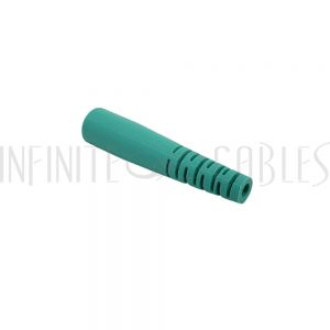 FO-BTST2-AQ ST Boot for 2mm Fiber Cable - Aqua - Infinite Cables