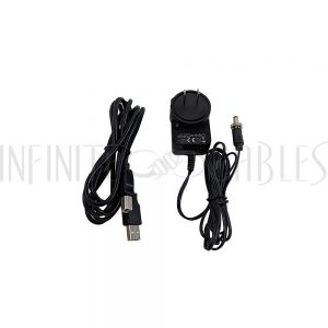 KVM-EHU4 HDMI/USB KVM Extender Over CAT5e/6 Cable - 50M - Infinite Cables