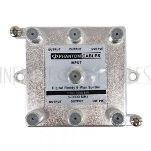 MB-TVD3-16 3GHz 90dB Digital Splitters 6-Way - Infinite Cables