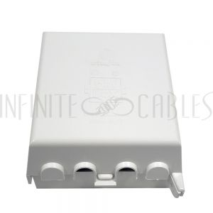 WP-BOX2-OD Outdoor Weather Proof Outlet Box, Double Gang White - Infinite Cables