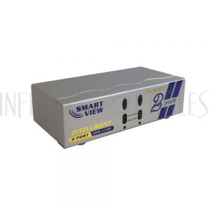 DRM-1712F 2-Port DVI Video Switch (2 Inputs, 1 Output Selector) - Infinite Cables