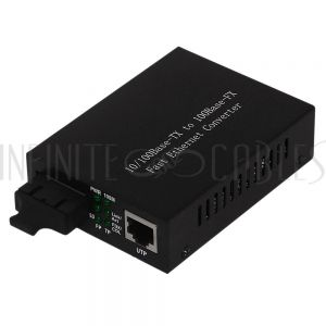 FO-MC1010 10/100 Singlemode Media Converter 30km SC - Infinite Cables
