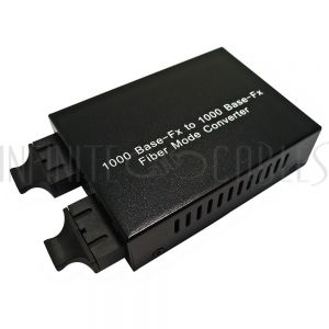 FO-MC4100 10/100/1000 multimode to singlemode converter (bi-directional) 20km SC (1310nm)