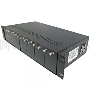 FO-MCC14 14 slot media converter chassis with blank covers - 2U