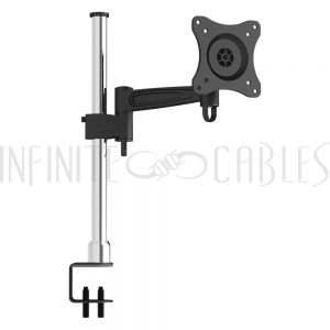 MT-551-BK Swivel & Tilt + Arm LED/LCD/PDP Desktop Bracket (10-23 inch) - Infinite Cables