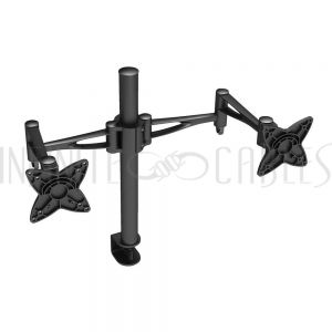 MT-562-BK Swivel & Tilt Dual Screen LED/LCD/PDP Desktop Bracket (13-27 inch)