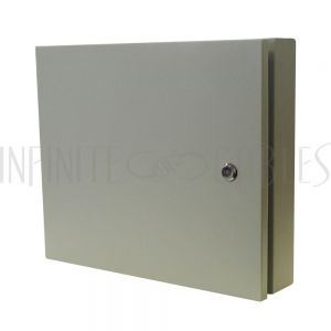 PP-F1600-GY Outdoor Wall Mounted Fiber Optic  Distribution Box, Grey - Infinite Cables