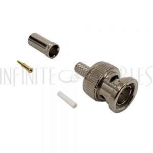 CN-30-735A BNC Male Crimp Connector for 735A - Infinite Cables