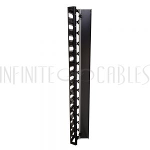 RM-450-29U Vertical Cable Manager for Relay Rack - 29U - Infinite Cables