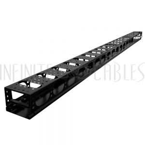 RM-450-42U Vertical Cable Manager for Relay Rack - 42U - Infinite Cables