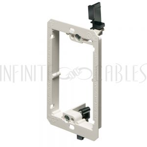 WP-CLIP-PLP Drywall Clip - Plastic, Single Gang Low Profile, Existing Construction - Infinite Cables
