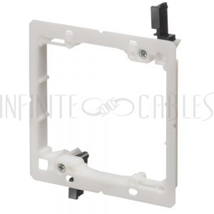 WP-CLIP2-PLP Drywall Clip - Plastic, Double Gang Low Profile, Existing Construction - Infinite Cables