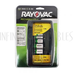 BT-NIMH-CH4 Rayovac Universal NiMH Battery Charger - Infinite Cables