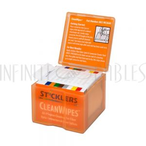 FO-MCC-WCS640 Sticklers® Cleanwipes™ - 640 Wipes per Box, Cleans up to 2560 End Faces - Infinite Cables