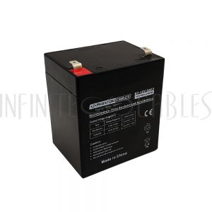 BT-12V-5AF2 Sealed Lead Acid Battery 12V 5amp - Infinite Cables