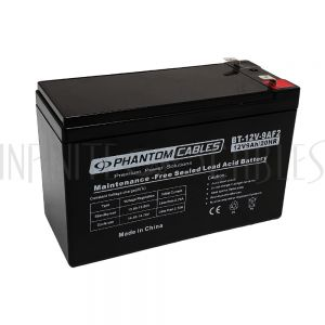 BT-12V-9A-2PCS Sealed Lead Acid Battery 12V 9amp x 2 - Infinite Cables