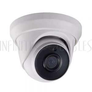 CA-1120F2-WH 2MP Turret TVI Camera - Fixed Lens - Ultra Lowlight IR with 130ft Range - Outdoor IP67 Rated - Infinite Cables