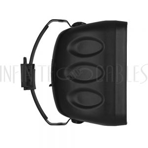 SPK-IO6PT-BK 6.5 Inch Indoor/Outdoor Wall Mounted Speaker (Single) - 70V - 120W Max - IP65 Rated - Black - Infinite Cables