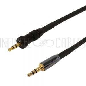 3.5mm Locking Male to 3.5mm Male Cables - Infinite Cables