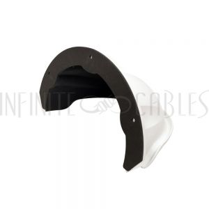 CA-DS-1250ZJ-WH Rain Shade For Dome Cameras - Infinite Cables