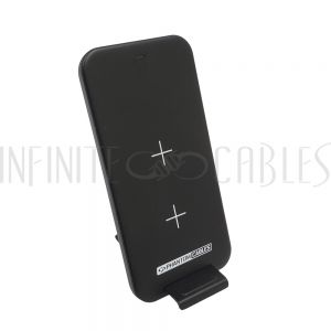 CH-USB-W03-BK USB 10W Stand Up Wireless Charger - Input 5V/2A, 9V/1.67A - Output 10W Max - Infinite Cables