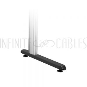 MT-1610-FB Video Wall Floor Stand - Floor Base with Leveling Feet - Infinite Cables