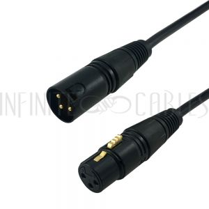 XLR Male to XLR Female Cables - Infinite Cables