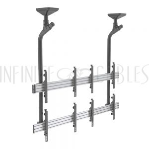 Modular Video Wall Ceiling Brackets - Infinite Cables