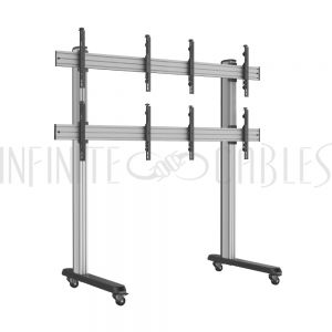 Modular Video Wall Floor Stand - Infinite Cables