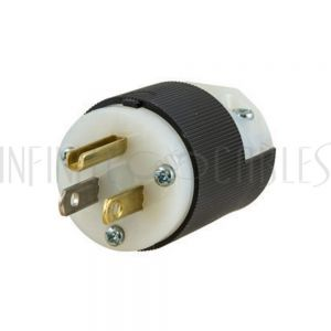 PW-CN-515P 5-15P Hubbell Power Cord Connector - Screw on - (HBL5266C) - Infinite Cables