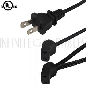 1-15P to AC Fan Power Splitter Cords - Infinite Cables