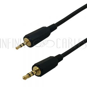 2.5mm Male to 3.5mm Male - Premium - Infinite Cables