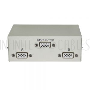 MB-HD15-21 2x1 AB HD15 Manual Switch Box - Infinite Cables