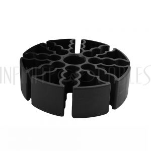 TLH-905 Cable Comb Organizer for CAT Cables Diameter 5.1mm to 7.5mm - Black - Infinite Cables