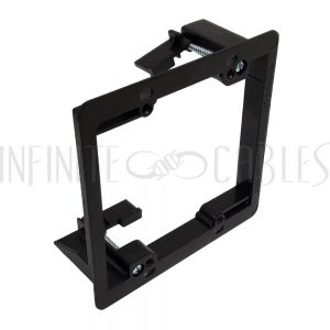 WP-CLIP2-PE Drywall Clip - Plastic, Double Gang, Existing Construction - Infinite Cables