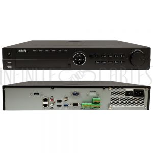 CA-NR510-32 32-Channel IP NVR - 12MP - 4K Resolution - 256Mbps - 4x SATA - 2U - Infinite Cables